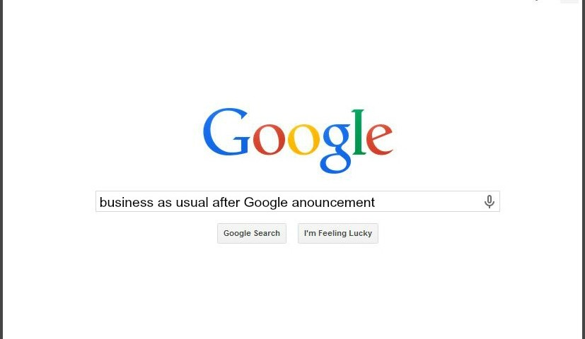 Google Announcements