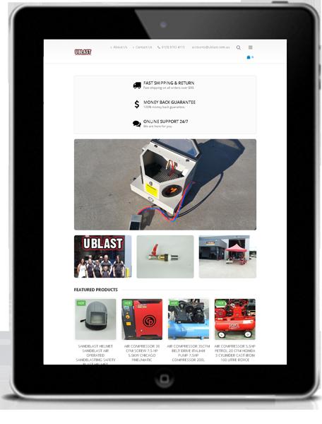 Ublast-tablet